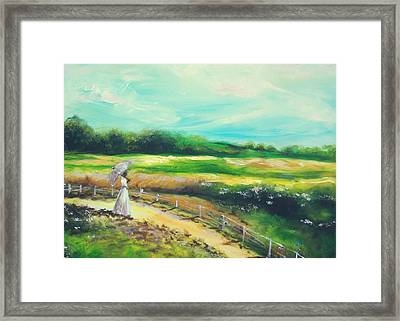 Framed Print featuring the painting Oneness by Emery Franklin