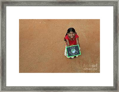 Oneness Framed Print by Tim Gainey
