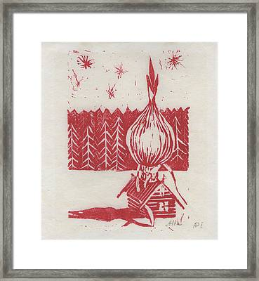 Onion Dome Framed Print by Alla Parsons