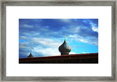 Onion Domes Framed Print