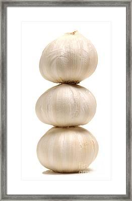 Onion Tower Framed Print