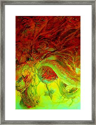 Oniristic Space Framed Print by Henryk Gorecki