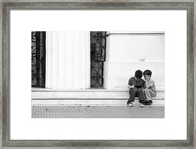 Online Framed Print by Silvia Bruno