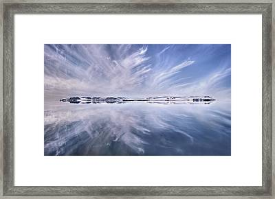 Only A Beautiful Artic Day Framed Print