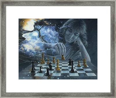 Only A Game Framed Print by Lucie Bilodeau