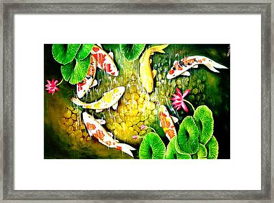 Only After The Last Fish Has Been Caugh  Framed Print by Yuki Othsuka