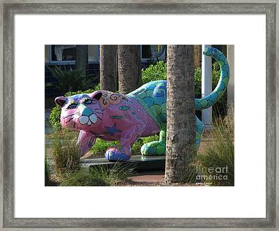 Only At The Beach Framed Print by Greg Patzer