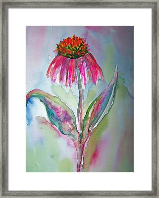 Only Child Framed Print by Sandy Collier