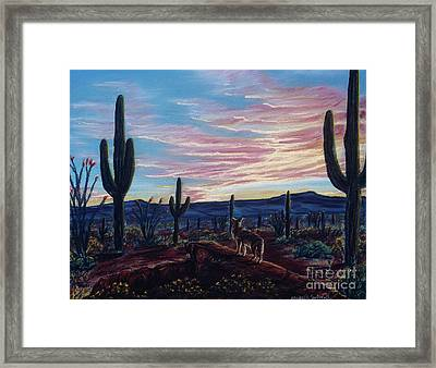 Only For A Moment Framed Print