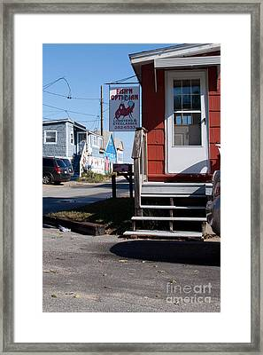 Only In Maine Framed Print
