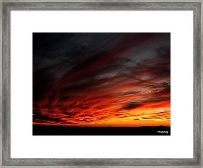Only In The Desert Framed Print by Adam Jones