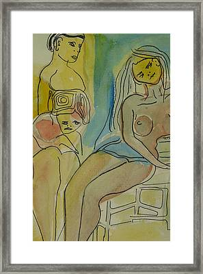 Only Sadness Framed Print by Thierry-guenand   DAUGENN-
