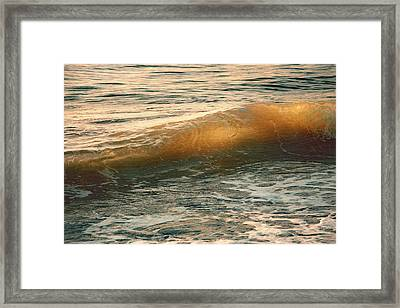 Only The Sound Of Waves Framed Print by Iryna Goodall