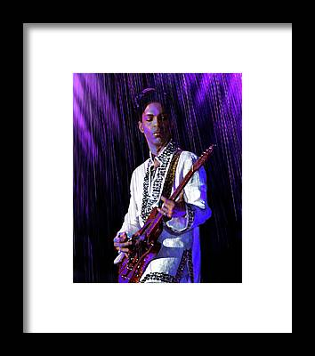 Prince Rogers Nelson Framed Prints