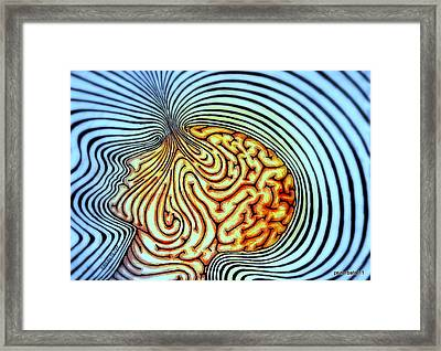 Only We Can Shape Our Own Destiny Framed Print