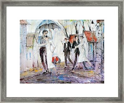 Only You Framed Print by Oleg Poberezhnyi