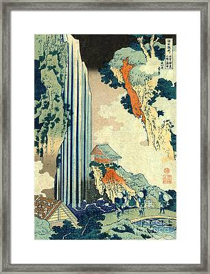 Ono Falls 1833 Framed Print