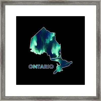 Ontario - Northern Lights - Aurora Hunters Framed Print