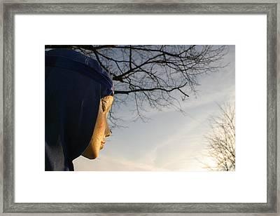 Onto The Fields Framed Print by Jez C Self