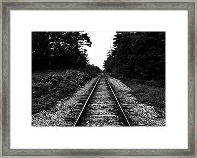 Onward Framed Print by Edward Myers