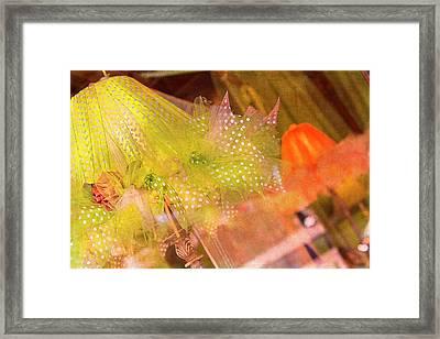 Ooh La La Framed Print by Rebecca Cozart