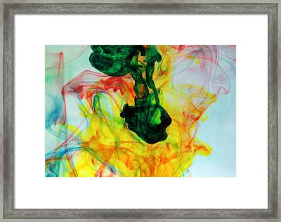 Ooh The Colors Man The Colors Framed Print by Michael Ledray