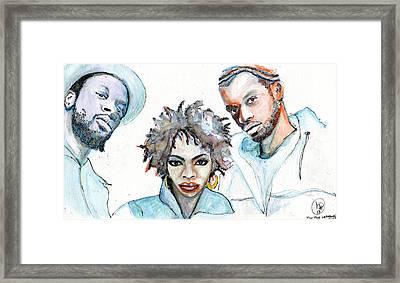 Oolahlahlah Framed Print by Howard Barry