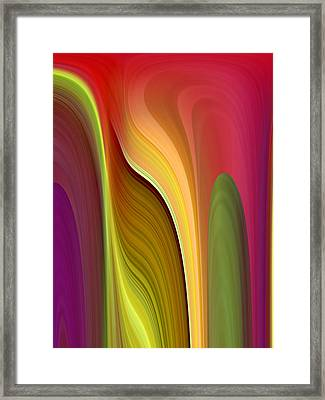 Oomph Framed Print