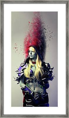 Ooooh Ahhhh Framed Print by Nichola Denny