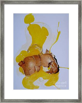 Oops Broken Egg Framed Print