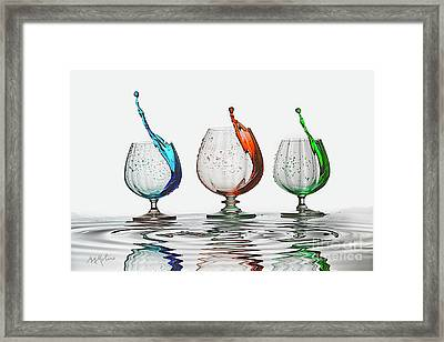 Oops Framed Print by Maggie Magee Molino