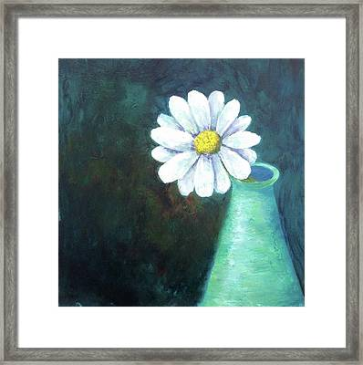 Oopsy Daisy Framed Print by T Fry-Green
