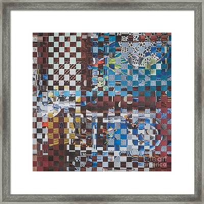 Op Art 102 Framed Print