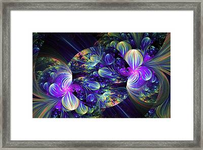 Opal Essence Framed Print by Lea Wiggins