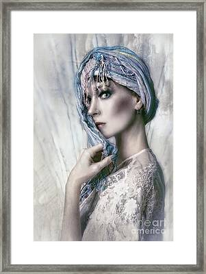 Opal Woman Framed Print by Spokenin RED