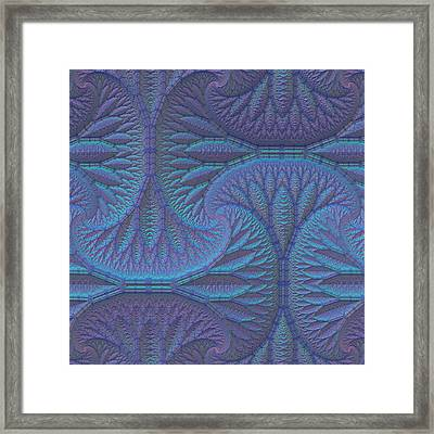 Framed Print featuring the digital art Opalescence by Lyle Hatch