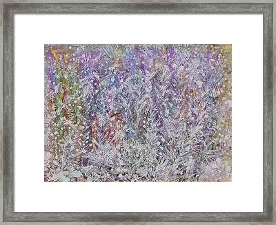 Opalescent Framed Print