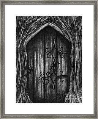Open A New Door Framed Print by J Ferwerda