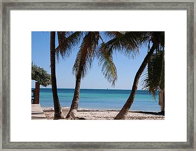 Open Beach View Framed Print