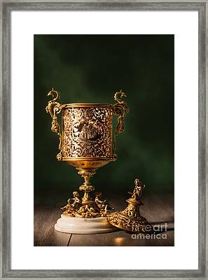 Open Chalice Framed Print