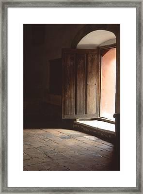 Open Door Framed Print by Eric Foltz