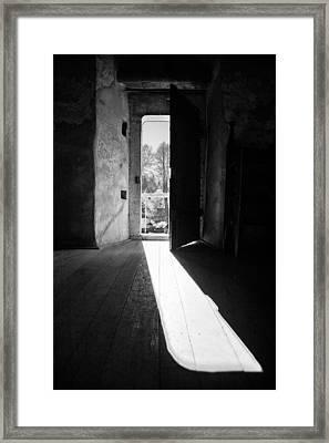 Open Door Framed Print by Gabriela Insuratelu