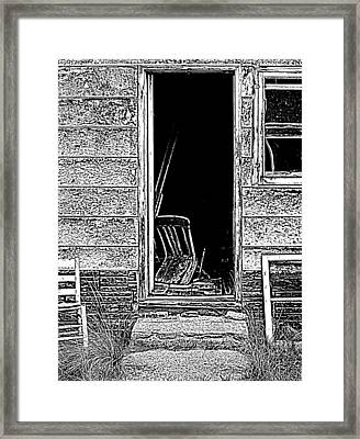 Open Door Policy Framed Print