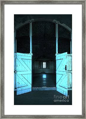 Open Door Framed Print by Svetlana Sewell