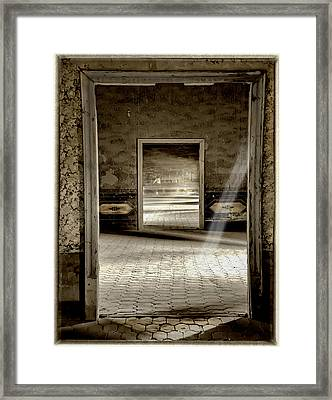 Open Doors Framed Print