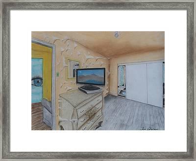 Open Doors Framed Print