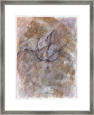 Open Ended Framed Print by Asma Hashmi