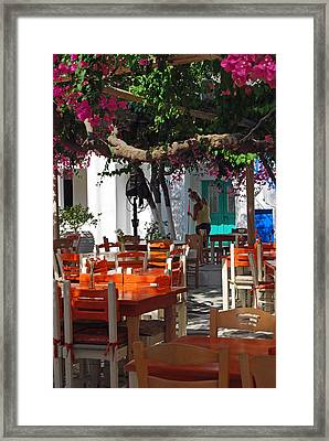 Open For Business Framed Print by Armand Hebert