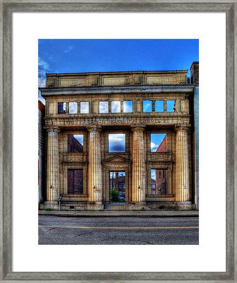 Open For Business Framed Print by Dave DelBen