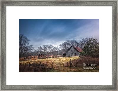 Open Gate Framed Print